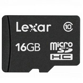 MEMORIA LEXAR MICROSD 16GB SDHC CLASE 10 P/N LFSDM10-16GABC10