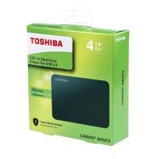 DISCO DURO EXTERNO 4TB TOSHIBA CANVIO BASIC BLACK USB 3.0 P/N HDTB440XK3CA