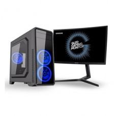 PCX THANOS FESTIGAME I5 8400 8GB 240GB SSD GTX1660 6GB MONITOR 24 GAMER CURVO SAMSUNG