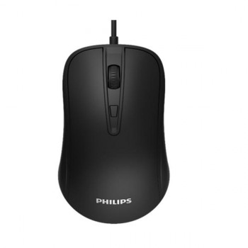 MOUSE PHILIPS OPTICO 7214 NEGRO USB P/N SPK7214