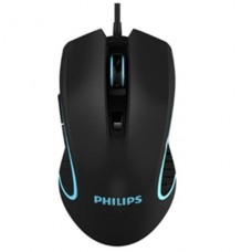 MOUSE GAMER PHILIPS NEGRO USB MODELO 9413 P/N SPK9413