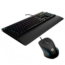KIT GAMER LOGITECH MOUSE GAMER G300 + TECLADO GAMER G213