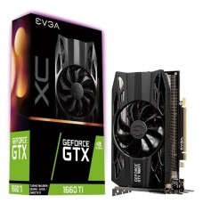 TARJETA DE VIDEO GEFORCE EVGA GTX 1660 TI XC GAMING 6GB P/N 06G-P4-1263-KR