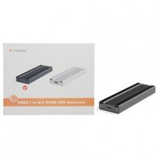 COFRE PARA DISCO M.2 NVME PCIE USB 3.1 FIDECO