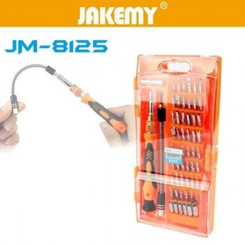 KIT HERRAMIENTAS DE PRECISION 58 EN 1 JAKEMY P/N JK-8125