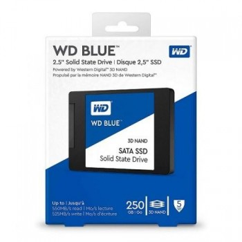 DISCO WESTERN DE ESTADO SOLIDO SSD 250GB 2.5