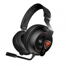 AUDIFONO GAMER COUGAR PHONTUM ESSENTIAL BLACK/ORANGE P/N 3H150P40B