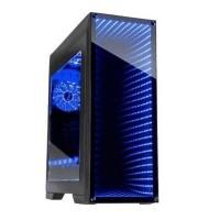 GABINETE GAMEMAX ABYSS M908 RGB VIDRIO TEMPLADO SIN FUENTE EXTENDED E-ATX