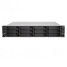 NAS QNAP 12 BAHIAS TS-1273U-RP-16G-US 16Gb RAM SATA 6Gb RACKEABLE EN 2U P/N TS-1273U-RP-16G-US