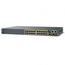 SWITCH CISCO CATALYST 2960-X 24 GigE 4 X 1G SFP P/N WS-C2960X-24TS-L
