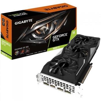 TARJETA DE VIDEO GEFORCE GIGABYTE GTX1660 TI GAMING OC 6GB PCIEX P/N GV-N166TGAMING OC-6GD
