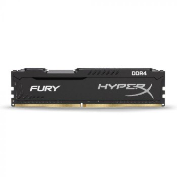MEMORIA UDIMM DDR4 KINGSTON HYPERX 8GB 3200MHZ FURY BLACK P/N HX432C18FB2/8