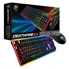 KIT DE TECLADO Y MOUSE GAMER COUGAR DEATHFIRE EX USB P/N 37DF2XNMB.0009
