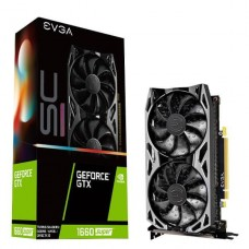 TARJETA DE VIDEO GEFORCE EVGA GTX 1660 SUPER 6G SC ULTRA GDDR6 PCIeX 3.0 P/N 06G-P4-1068-KR