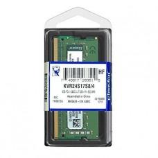 MEMORIA SODIMM KINGSTON DDR4 4GB 2400 MHZ P/N KVR24S17S8/4