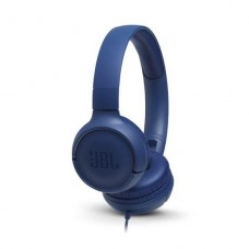 AUDIFONO CON MICROFONO ON-EAR JBL TUNE 500 AZUL P/N JBLT500BLU
