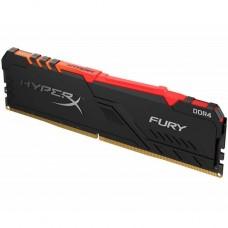 MEMORIA DDR4 KINGSTON HYPERX FURY 16GB 2666 MHZ RGB P/N HX426C16FB3A16