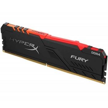 MEMORIA DDR4 KINGSTON HYPERX FURY 16GB 2666 MHZ RGB P/N HX426C16FB3A16