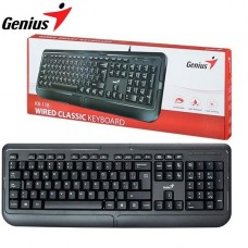 TECLADO GENIUS USB Kb-118 p/n 31300010401